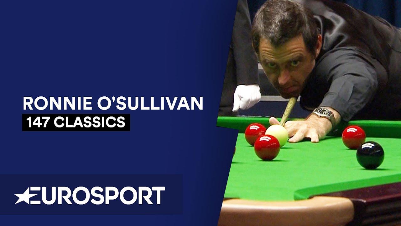 Ronnie O'Sullivan Fastest 147 in History