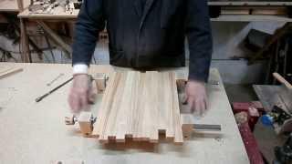 getlinkyoutube.com-Самодельная струбцина - вайма. Homemade bar clamp.