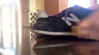 getlinkyoutube.com-Cleaning New Balance 574's with Sparkling Soles