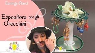 getlinkyoutube.com-Portaorecchini fai da te - Tutorial DIY di Creaidee