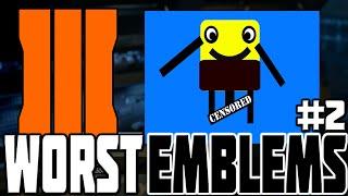 WORST BO3 EMBLEMS #2! Black Ops 3 Funny & Weird Emblems
