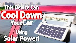 getlinkyoutube.com-Now You Can Cool Your Car Using This Solar Ventilator! (Kulcar 3)