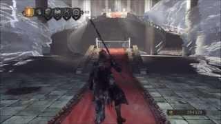 getlinkyoutube.com-Dark Souls 2: Old Ivory King Armor set, plus ultra great sword