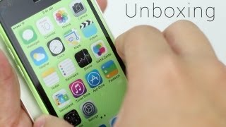 Green iPhone 5c Unboxing, Hands On