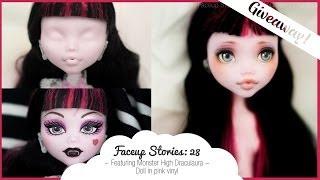 getlinkyoutube.com-[GIVEAWAY] Faceup Stories: 28 Monster High Draculaura
