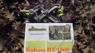 getlinkyoutube.com-Brush Grubber Tree Stump Removal Review