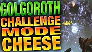 getlinkyoutube.com-Golgoroth Challenge Mode Cheese - Easy 1 Orb Method