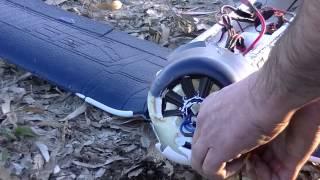 getlinkyoutube.com-ParkZone F4U Corsair Wing Failure Crash