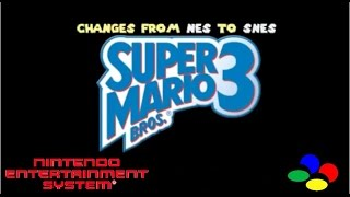 getlinkyoutube.com-Super Mario Bros 3: Changes from NES to SNES