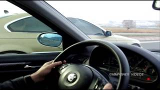 getlinkyoutube.com-BMW E46 328i vs BMW E46 330ci Rolling (Ver.2)