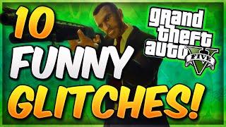 getlinkyoutube.com-GTA 5 Online - 10 Funny Glitches & Tricks In GTA 5 Online! (Best GTA 5 Glitches of 2014)