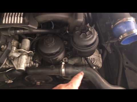 HOW TO Remove Alternator BMW 5 Series 3 Series E90 E39 528I 328I M5 M3