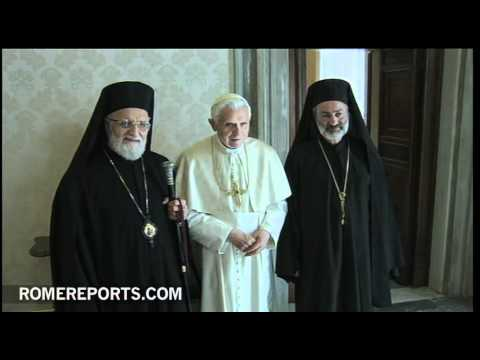 Pope meets with Melkite Patriarch  Gregorio III