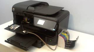 getlinkyoutube.com-CISS Continuous ink system for HP Officejet Pro 8600 8100 e-all-in-one printer