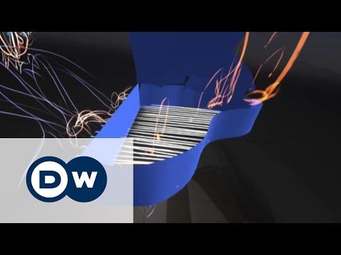 Трехмерные рисунки в воздухе: зазеркалье стало возможным