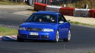 getlinkyoutube.com-Audi S4 Nürburgring Nordschleife Touristenfahrt Lap (2006)...