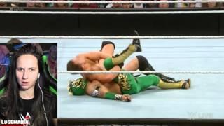 getlinkyoutube.com-WWE Raw 1/26/16 Kalisto vs The Miz