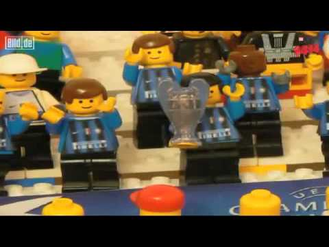 Bayern Munich vs Inter Milan Champions League Final in Lego