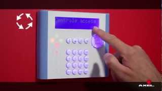 AXEL - Accensione e spegnimento dell'impianto -