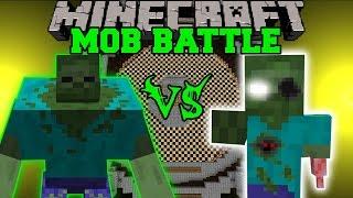 getlinkyoutube.com-MUTANT ZOMBIE VS ERODED ZOMBIE - Minecraft Mob Battles - Mods