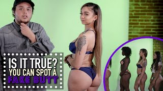 getlinkyoutube.com-You Can Spot A Fake Butt? - Is It True
