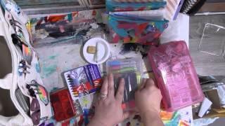getlinkyoutube.com-Reorganizing My Travel Journal Bag