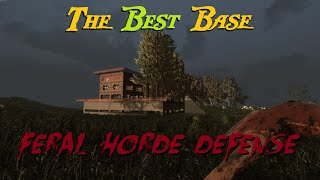 getlinkyoutube.com-Best Base Build For 7 Days to Die - Feral Horde Defense