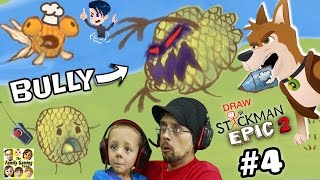 getlinkyoutube.com-GET REVENGE ON BULLY!! DRAW A STICKMAN EPIC 2 🚸 Chapter 4: A Town in Need (FGTEEV + MAX & MIDNIGHT)