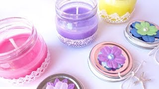getlinkyoutube.com-Candele profumate fatte in casa (no cera) - Scented candles home-made (no wax)