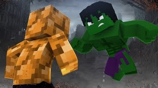 getlinkyoutube.com-Minecraft: HULK VS COISA - Super Heroes PvP ‹ Ine ›