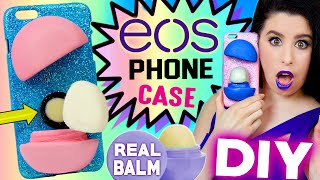 getlinkyoutube.com-DIY EOS Phone Case! | With REAL EOS Lip Balm INSIDE! | How To Make The FIRST EOS iPhone Case!