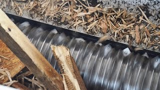 getlinkyoutube.com-WEIMA wood pallets shredding
