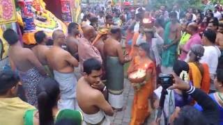 Hamm Germany Sri Kamadchi Ampal Tempel sappara thiruvila HD Video