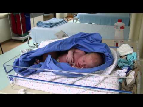 Leonardo nasceu - Cesariana no Hospital Santa Catarina em Blumenau