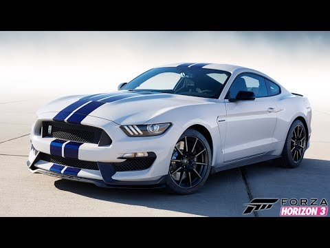 Forza Horizon 3 - FORD SHELBY GT350R TESTE DRIVE + DRIFT | VOLANTE G920 | |