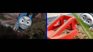 getlinkyoutube.com-Thomas and Friends: Thomas and the Troublesome Trucks Comparisons: Original vs  Remake