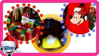 getlinkyoutube.com-Vídeos de Navidad con Papá Noel, El Portal de Belén y Botas de Navidad Disney