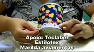 getlinkyoutube.com-CRIS AZEVEDO EM DICAS DE RECICLAGEM- LATA