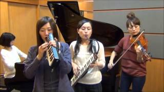 getlinkyoutube.com-ドラクエメドレー  【FlyingDoctor(フライングドクター)】  序曲 間奏曲 王宮のトランペット 愛の旋律 戦火を交えて 鍵盤ハーモニカ ピアノ ヴァイオリン グロッケン