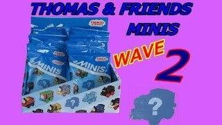 getlinkyoutube.com-Thomas & Friends Minis Wave 2 Blind Bags | Unboxing! (Thomas and Friends Toys)