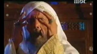 عبد الملك بن مروان ممسكا برأس عبد الله بن الزبير