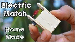 getlinkyoutube.com-How to Make an Electric Match - Match Life Hacks