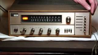 "getlinkyoutube.com-Vintage ""The Fisher"" Fisher 400T Solid State Stereo Receiver Tune-O-Matic Demonstration"