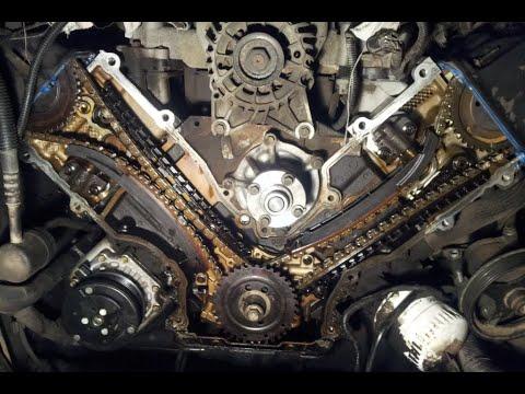 Lincoln Navigator - замена цепей ГРМ , маслосъемных колпачков , и т.д. и т.п.