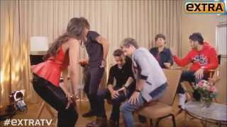 getlinkyoutube.com-One Direction Interview , Harry Twerking