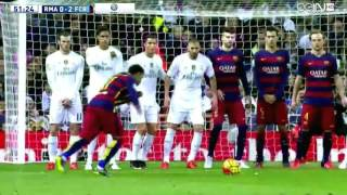 getlinkyoutube.com-كل ماقدمه نيمار ضد ريال مدريد 2015  0-4 HD