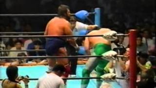 getlinkyoutube.com-Mitsuharu Misawa vs Steve Williams (AJ 09.03.1993)