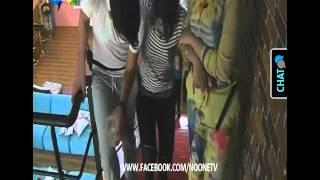 getlinkyoutube.com-اصابة سهيلة بن لشهب في صف الرياضية البوم في ستار اكاديمي 11