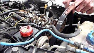 getlinkyoutube.com-Replace cam belt Alfa Romeo 156 1.8 twinspark
