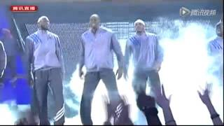 getlinkyoutube.com-2012 NBA All-Star  hot dance of the King- James,and What is the beast  Griffin doing?
